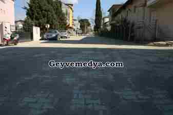Geyve Belediyesi Kepekli Caddesi Kilitli Parke Çalışması