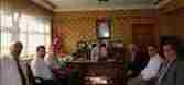 Geyve Yerel Kültür Derneğinden İlçe Kaymakamı İdris Akbıyıka Ziyaret