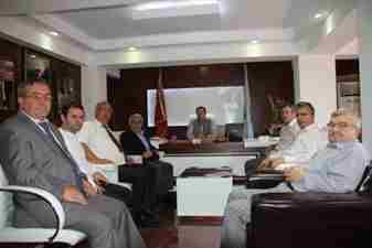 Geyve Yerel Kültür Derneginden Belediye Başkanı MUrat Kayaya Ziyaret