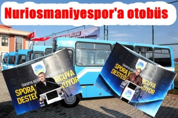 Büyükşehirden spor kulüplerine otobüs