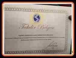 SKS( Sakarya Üniversitesi Öğrenci Toplulukları Birliği) Birlik Başkanlığının Saü Genç Girişimciler Topluluğuna Verdiği Takdir Belgesi
