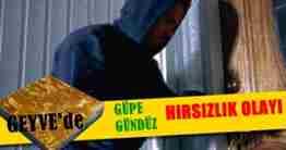 GEYVEDE HIRSIZLIK OLAYI