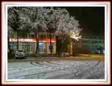 geyve kar yağışı