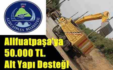 alifuatpaşa belediyesi alt yapı işleri