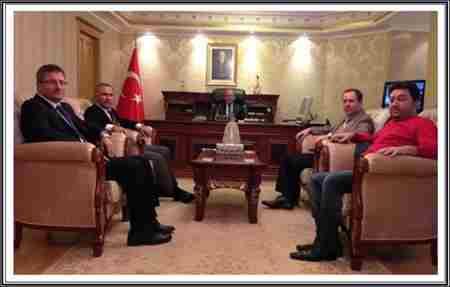 Geyve Eski Kaymakım Süleyman Erdoğana ziyaret