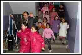 Kazımpaşa Ortaokulu deprem tatbikatı3