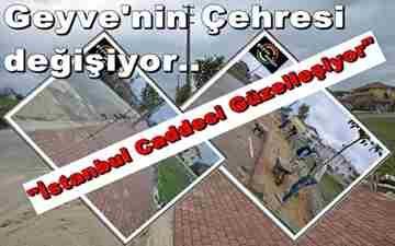geyve kilitli parke çalışmaları-istanbul caddesi
