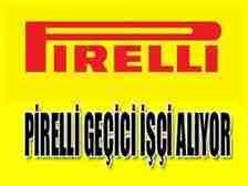 pirelli işçi alıyor