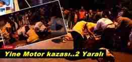 pamukova cihadiye motor kazası 2 yaralı