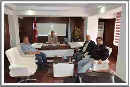 faruk kır geyve belediye başkanı murat kayayı ziyaret etti