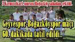 geyvespor boğazköyspor maçı
