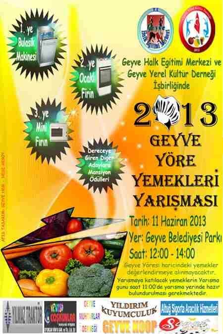 AFİŞ(Yemek-Yarışması)