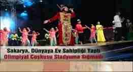 sakaryada türkçe olimpitaları çoşkusu