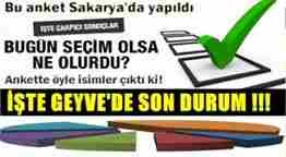 sakarya en son seçim anketi medyabar