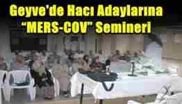 geyvede hacı adaylarına seminer
