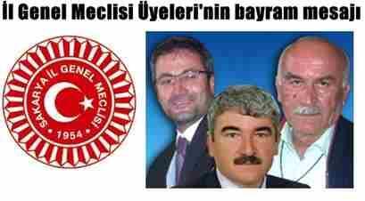 il genel meclis üyelerinin bayram mesajı