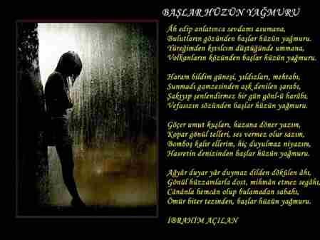 başlar hüzün yağmuru-şiir-ibrahim açılan