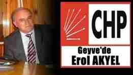 chp geyve belediye başkan adayı erol akyel oldu