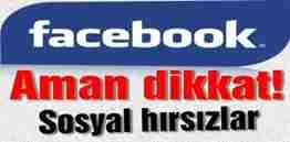 facebook kullanıcıları dikkat