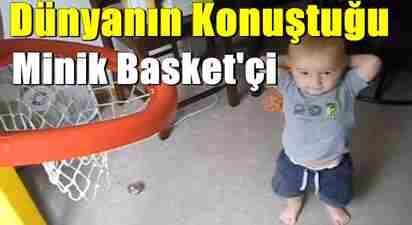 dünyanın konuştuğu minik basketçi