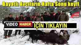 geyve bayat köyü avcılarının domuz avı