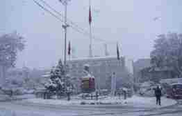geyve kar yağışı görüntüleri (9)