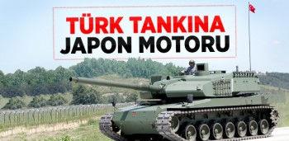 türk tankına japon motoru