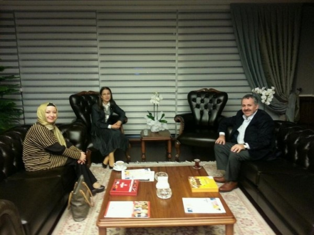 şaban dişli bakan ayşenur islamı ziyaret etti