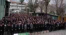 Alifuatpaşa belediye Başkanı Ş.Erkan çalıkın babası şaban çalık defnedildi (20)
