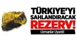 türkiye toryum rezervi