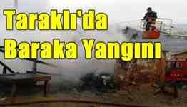 taraklı ahmet bayhan baraka yangını .Ocak 2014