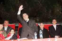 Mehmet Kır eşme doğantepe köyü mitingi