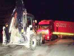 taraklı gölpazarı yolu tır kazası,ak parti rampası (5)