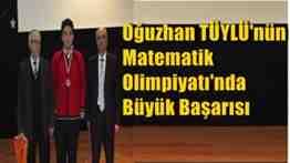 oğuzhan tüylü-geyve ortaokulu-fatih koleji-matematik olimpiyatı-