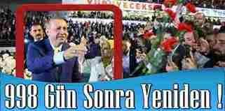 Cumhurbaşkanı Erdoğan Yeniden Ak Parti'nin Genel Başkanı…