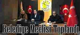 2018 Yılının İlk Belediye Meclisi Toplandı…