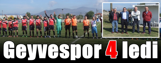 Geyvespor 4-2 Hacımercanspor