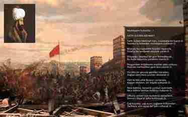 Kaymakam Memiş, Sultan Mehmet Han'ı Şiirle Yad Etti