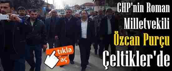 CHP'nin Roman Vekili Purçu Geyve'de