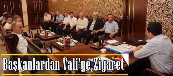 Ak Partili Başkanlardan Vali Balkanlıoğlu'na Ziyaret