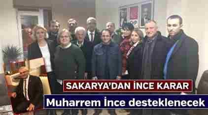 Sakarya CHP Örgütü, Kılıçdaroğlu'na Bayrak Açtı