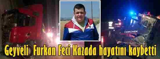 Geyveli Genç Feci Kazada Kaybetti.