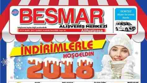 Besmar'da Yeni Yıla Hoş Geldin Kampanyası