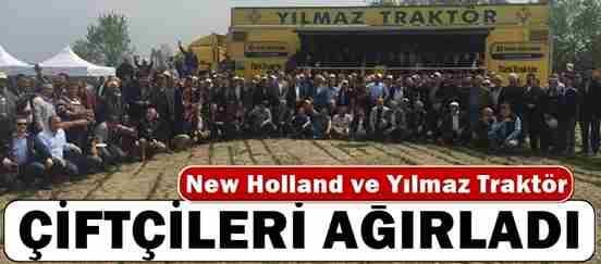 New Holland ve Yılmaz Traktör, Çiftçileri Ağırladı