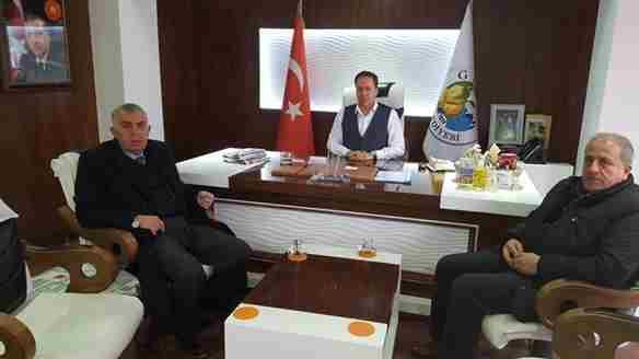 Dişli'den Başkan Kaya'ya Ziyaret