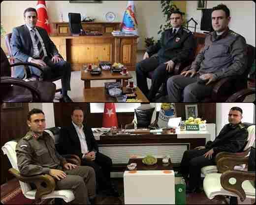 İl Jandarma Komutanı Albay Cengiz Yiğit Geyve'de