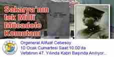 alifuat cebesoy-anma-programi-geyve-alifuatpasa-