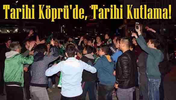 Alifuatpaşa'lı Tatangalar Şampiyonluğu Böyle Kutladı