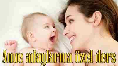Anne Adaylarına Özel Ders