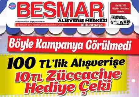 Besmar'da Yenilenen Bölümleriyle Fırsat Dolu Alışveriş